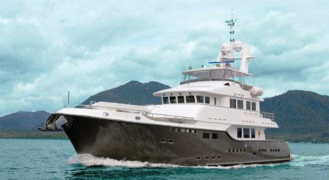 Charter yacht CaryAli by South Coast Marine