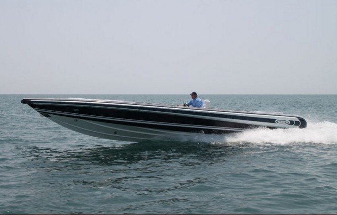 Chase 38 yacht tender by Novurania