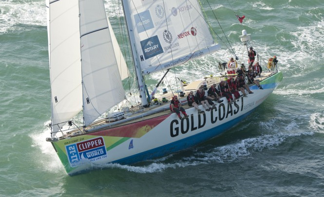 Clipper 68´ sailing yacht Gold Coast Australia - Picture by onEdition