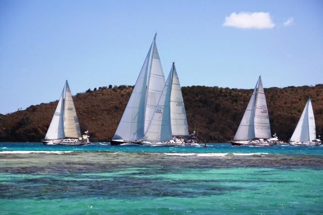 ClubSwan Caribbean Rendevous BVI © Yacht Shots