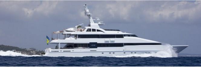 Heesen 42m luxury yacht LIFE SAGA