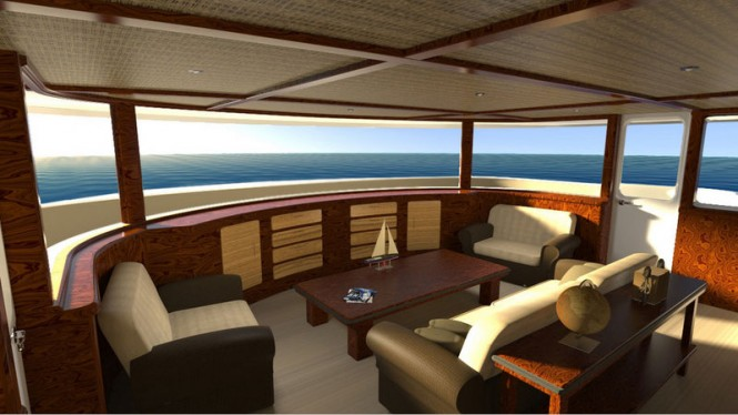 Highly-comfortable accommodation offered by Evolution Superyacht