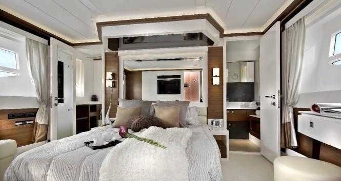 Horizon E54 Superyacht - Master Cabin