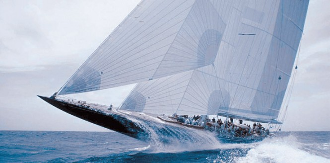 J Class charter yacht ENDEAVOUR