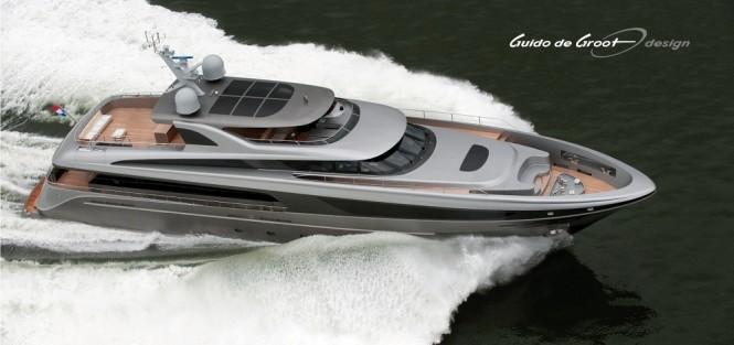 Jongert 3900 super yacht Lucia