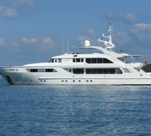 Christmas Yacht Charter Special for the Caribbean super yacht AXIOMA
