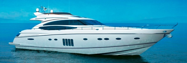 Luxury charter yacht Princess V85
