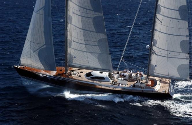 Luxury charter yacht SOJANA