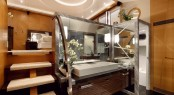 MUSES superyacht´s beautiful interior