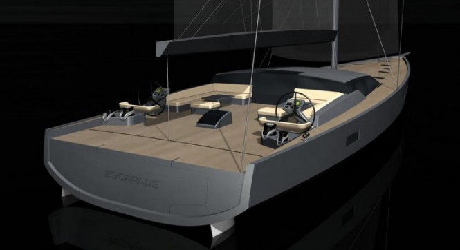 Maxi Dolphin FC 100 superyacht