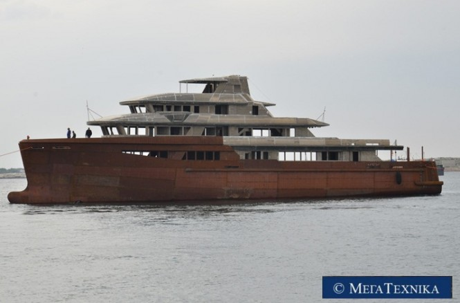 Mega Technica 50m Hull 163.10 superyacht