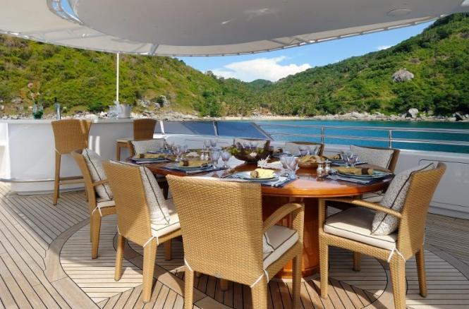 Motor Yacht Axioma - Sun Deck