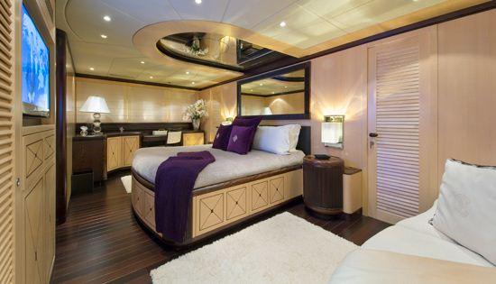 Motor yacht Bear Market Master Cabin