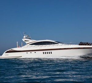 Motor yacht Bear Market offering over 50% discount for MIPIM Cannes event charter