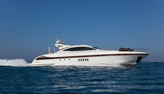 Motor yacht Bear Market available for event charter at the MIPIM in Cannes