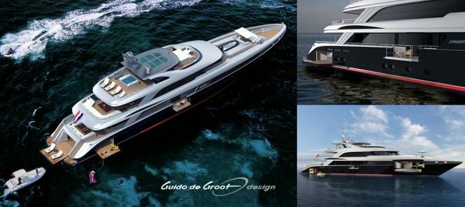 Motor yacht Lucia by Jongert