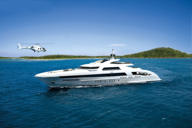 Heesen 65m Fast Displacement Motor Yacht YN 16465 - Image courtesy of Heesen Yachts