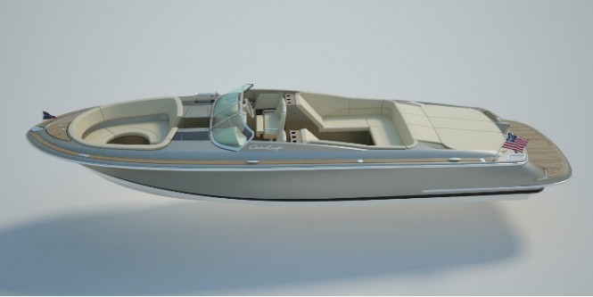 New Launch 32 Yacht Tender by Chris-Craft