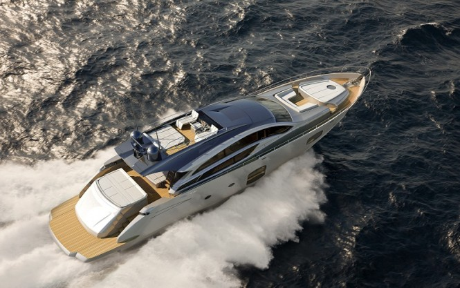 Pershing 82 motor yacht by Perishing Yachts