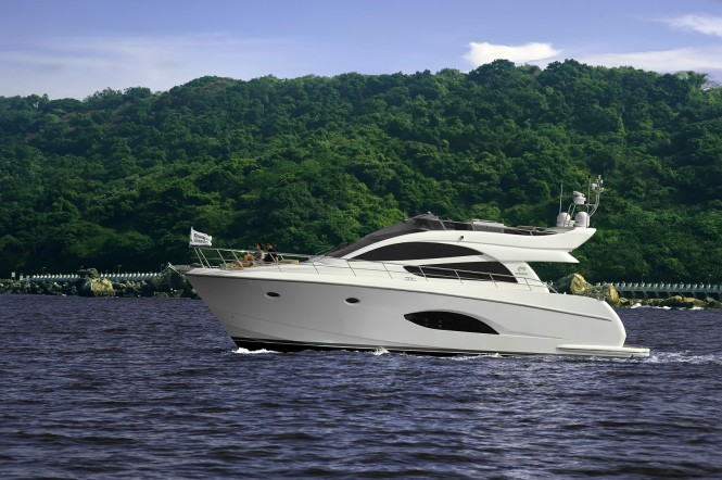 Newly-launched luxury yacht Horizon E54