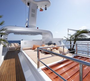 42m Heesen motor yacht LIFE SAGA's interior makeover by Holland Jachtbouw