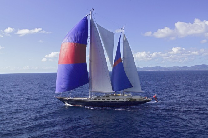 Perini Navi Sailing Yacht ANDROMEDA LA DEA - Courtesy of Fred Summer