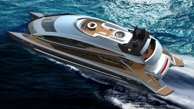 Porsche Design Superyacht - Top View