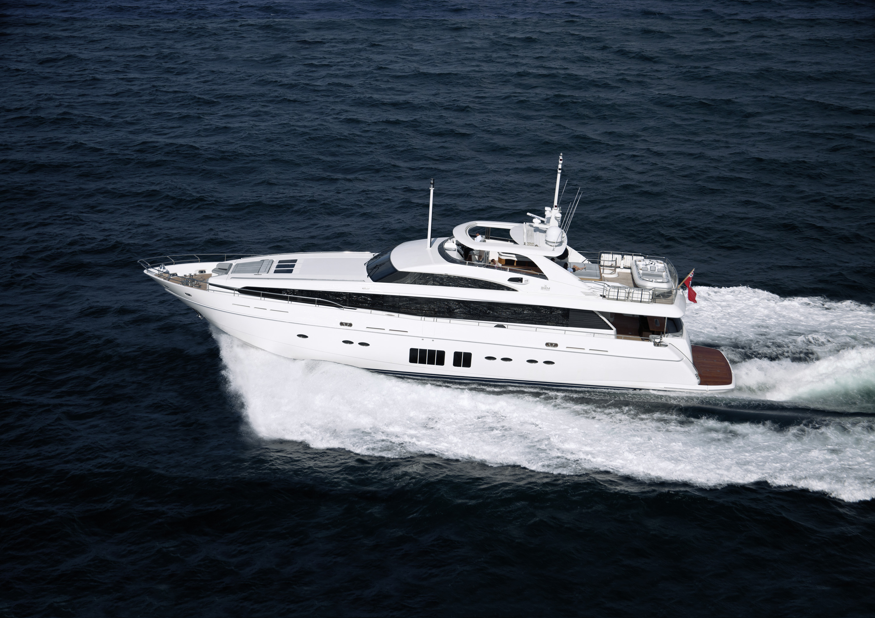 32M Princess Yacht - exterior. The Plymouth boat builder will also have the ...