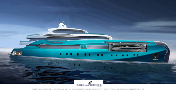 54m Proteksan &amp; TurquoisePro Plumb superyacht