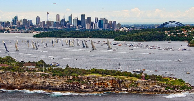 Rolex Sydney Hobart Yacht Race start Photo By Rolex  Carlo Borlenghi
