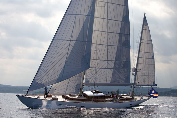 Sailing Yacht Bequia by Stephens Waring Yacht Design