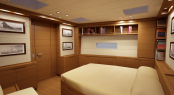 Sailing Yacht SW 102 DS by Southern Wind - Owner Cabin