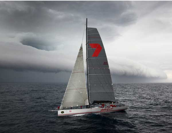 Sailing yacht Wild Oats IX at the RSHYR 2011 Photo D. Foster