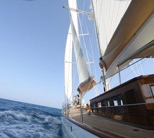Additional photos of the stunning 25m sailing yacht Shindela by Arkin Pruva Argos Yachts