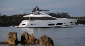 Sunseeker 28 Metre Yacht - rear image