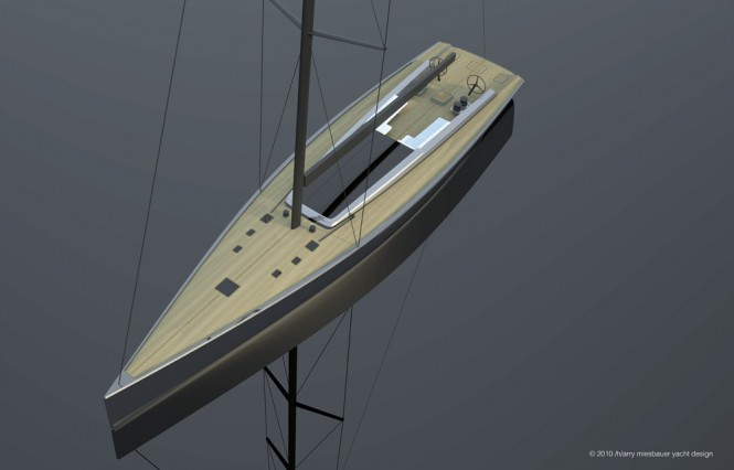 Super yacht Maxi Dolphin MD90 - Credit: 2010/harry miesbauer yacht design