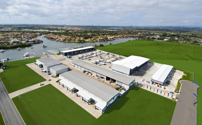 The Boat Works´ impressive 9.2 hectare site at Coomera has recently undergona a major expansion