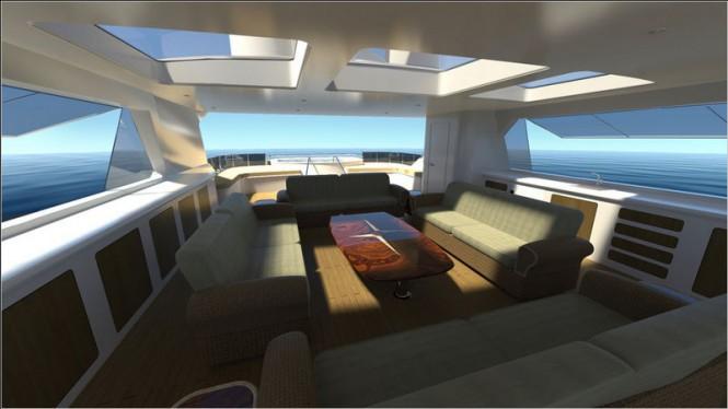 Trinity luxury explorer yacht Evolution