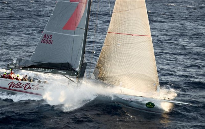 WILD OATS XI, Bob Oatley  Photo By Rolex  Daniel Forster