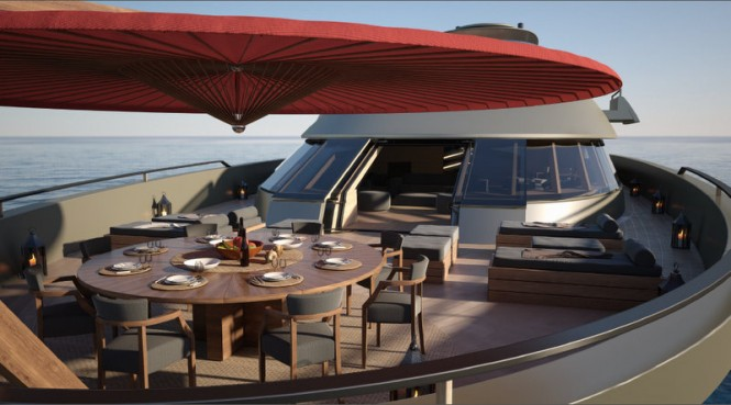 Xvintage Superyacht by Fincantieri - Bow Terrace