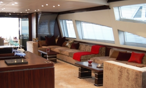 Yacht Makira Saloon