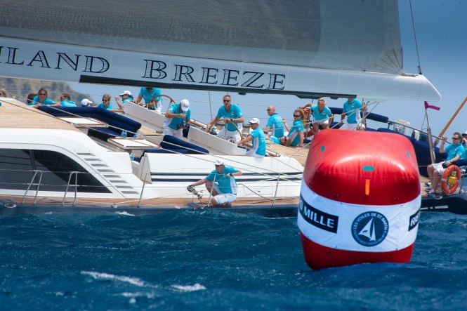 112´ super yacht Highland Breeze by Swan Nautor Christophe Jouany Les Voiles de Saint-Barth