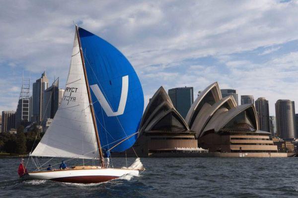 176th Australia Day Regatta preview - Weene sailing on Sydney Harbour Photo Andrea Francolini