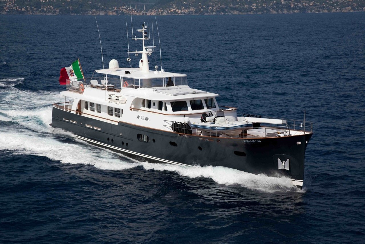 33m Luxury Motor Yacht Marhaba By Ocea Shipbuilding