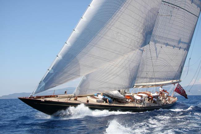 37m luxury charter yacht SHAMROCK V