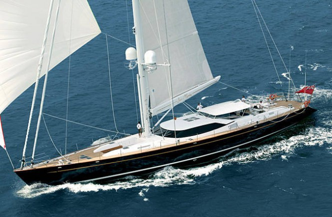 39.6m super yacht Janice of Wyoming by Alloy Yachts