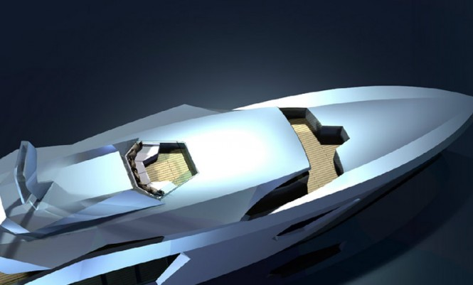 40m Super yacht RW40 - View from above