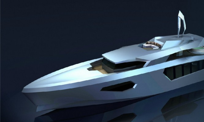 40m motor yacht RW40 by Bannenberg & Rowell Design