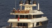 43m Lady Trudy Superyacht - rear view