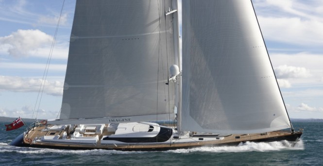 44m sailing yacht IMAGINE by Alloy Yachts
